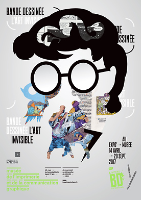La BD, Art invisible au Musée de l'Imprimerie de Lyon 1