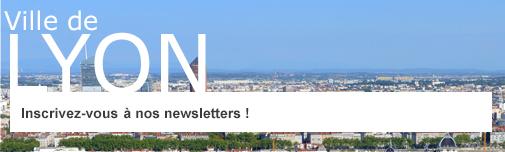 Inscrivez-vous à nos newsletters